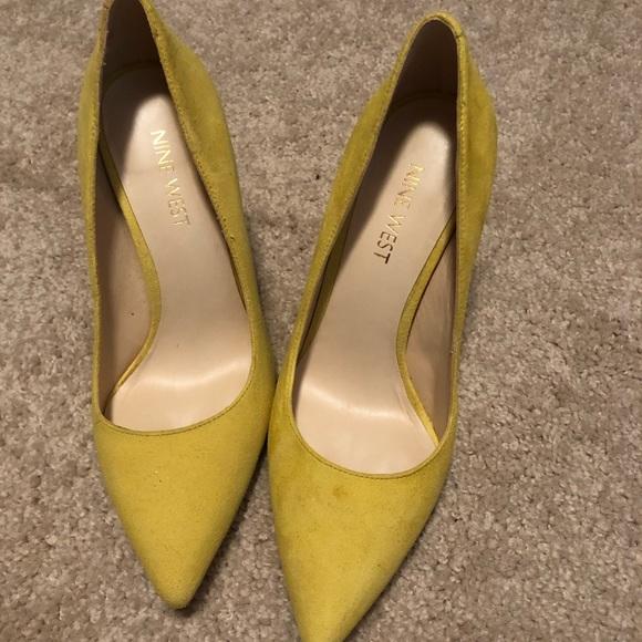 Shoes   Nine West Suede Pumps   Poshmark